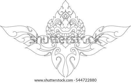 maori tribal tattoo stock vector 163432529 shutterstock. Black Bedroom Furniture Sets. Home Design Ideas