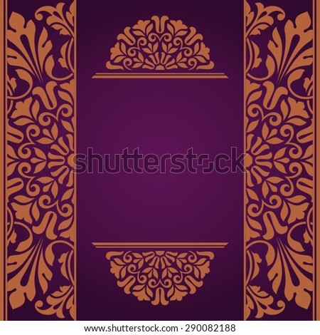 Floral Indian pattern. - stock vector