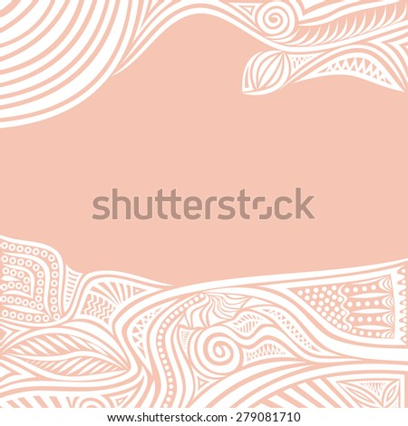Floral nature pattern design element vector illustration