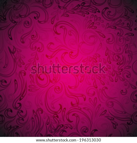 floral pattern for your design - stock vector