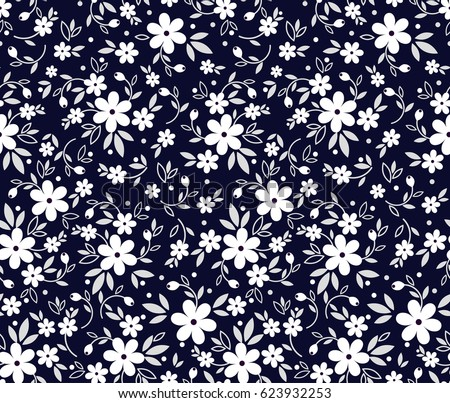 blue floral wallpaper stock images royaltyfree images