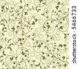 Floral pattern, vector illustration - stock vector