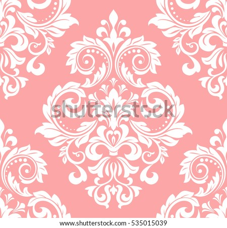 Seamless pink floral pattern - photo#41