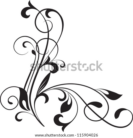 floral pattern decorative branch stock vector hd royalty free rh shutterstock com vector floral pattern background vector flower pattern