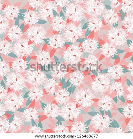 floral seamless background. gentle flower wedding pattern. flowers peony