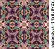 Floral seamless orient pattern - stock