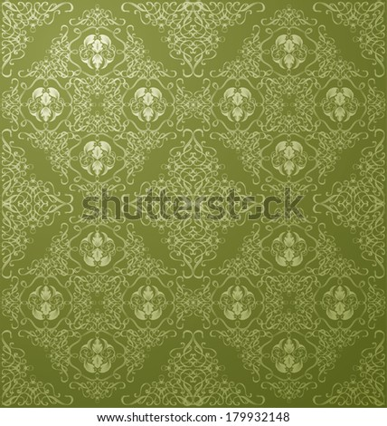 floral seamless pattern for design. Vector Illustration