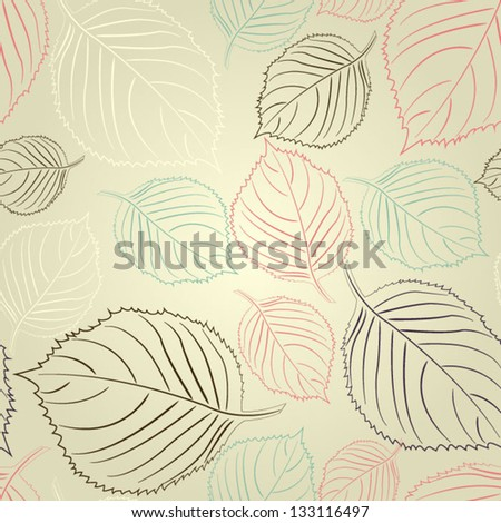 Floral seamless pattern Paper for scrapbook Cartoon pattern for cute wallpapers