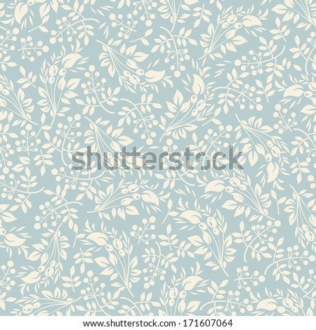 Floral seamless pattern.Seamless pattern can be used for wallpaper, pattern fills, web page background,surface textures. - stock vector