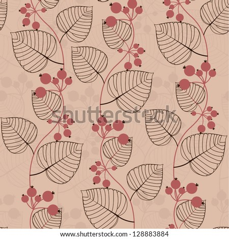 Floral seamless pattern/ vector background