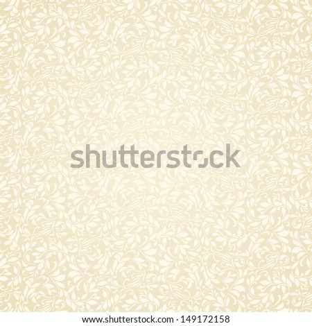 Floral seamless texture, endless pattern with flowers. Seamless pattern can be used for wallpaper - stock vector