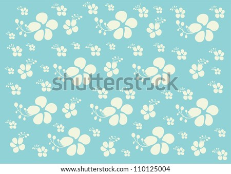Floral texture background with beautiful floral patterns- This floral pattern can be used for wallpaper, card design, web page background, surface textures and pattern fills - stock vector
