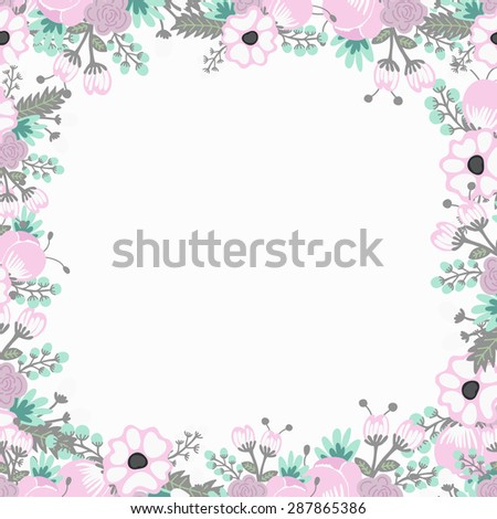 Floral vector background patterns wallpaper wedding stock vector floral vector background for patterns wallpaper wedding birthday invitation cards web stopboris Image collections
