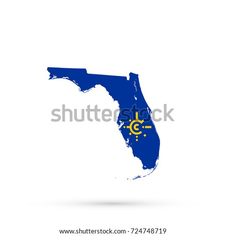 free editable florida map