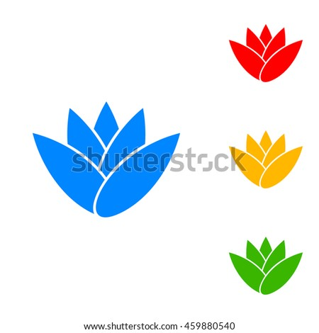 yellow green flower logo - photo #15