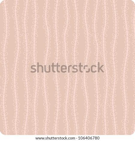 flower background, seamless pattern, flower, circle, vector - stock vector
