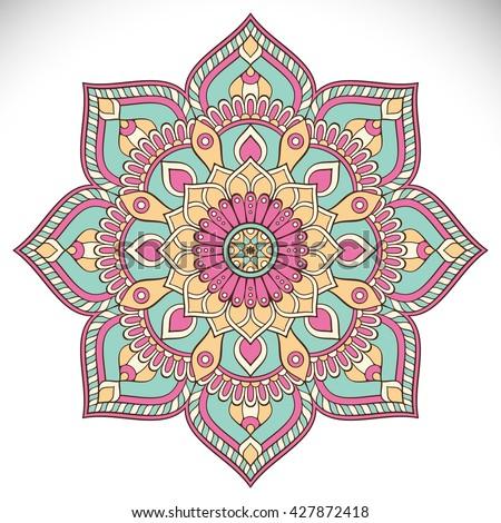 Mandala Flower Stock Images Royalty Free Images Amp Vectors