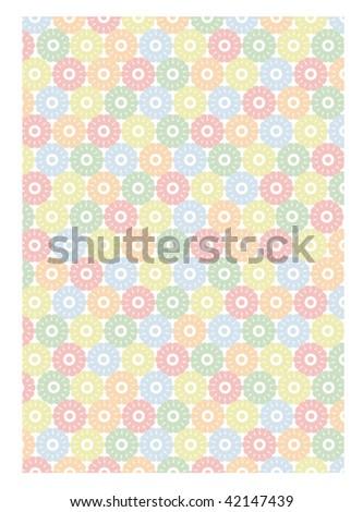 flower pattern #4 - stock vector