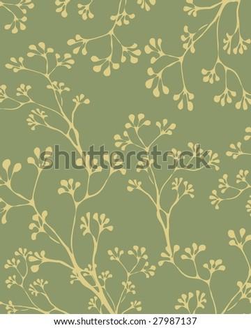 flower yellow background - stock vector