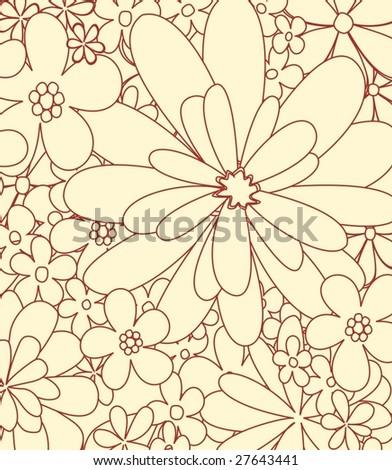flowers 7 - stock vector