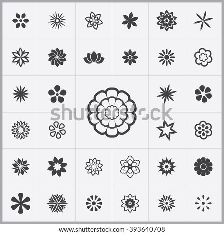 flowers Icon, flowers Icon Vector, flowers Icon Art, flowers Icon eps, flowers Icon Image, flowers Icon logo, flowers Icon Sign, flowers icon Flat, flowers Icon web, flowers icon app, flowers icon UI - stock vector