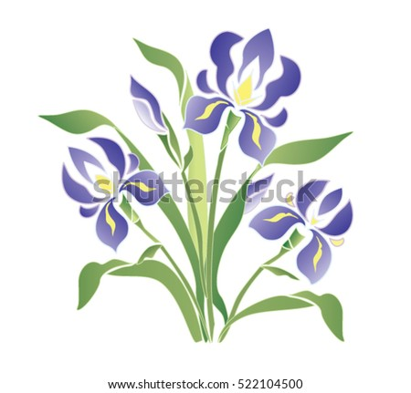 flowers, pattern, decoration,