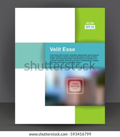 pamphlet layout