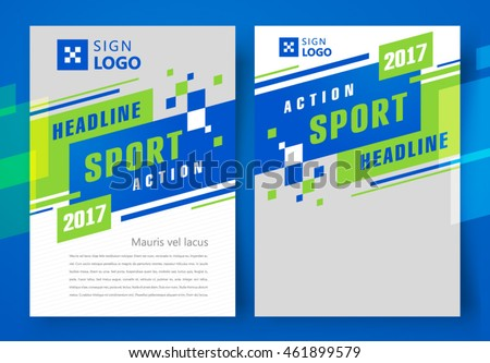 Flyer Brochure Design Business Flyer Size Stock Vector (2018 ...