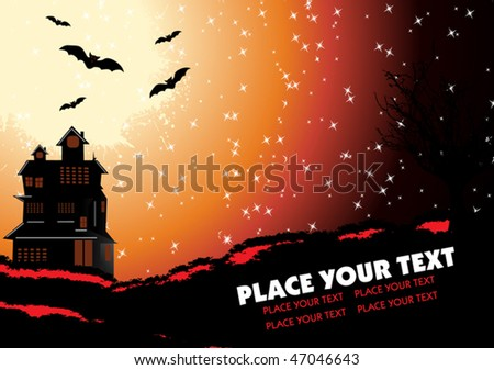 Flyer / Declaration / Invitation - stock vector