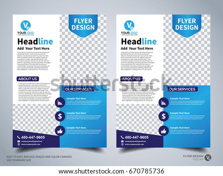 Flyer design template vector leaflet design stock photo photo flyer design template vector leaflet design poster design business flyer cover design friedricerecipe Images
