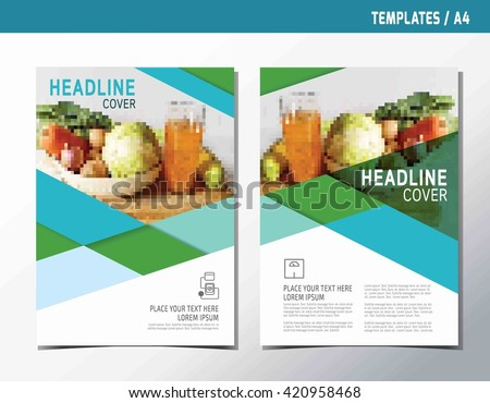 Diabetes Brochure Template Obesity Vector Illustration Poster