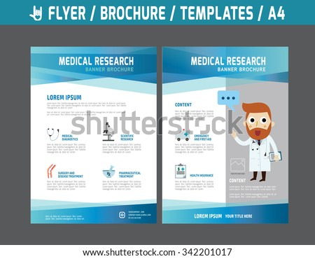 Medicine Brochure Stock Images RoyaltyFree Images Vectors - Free medical brochure templates