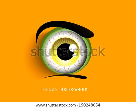 Flyer, poster or banner for Halloween Dance Party. - stock vector