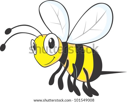 Bee Cartoon | lol-rofl.com