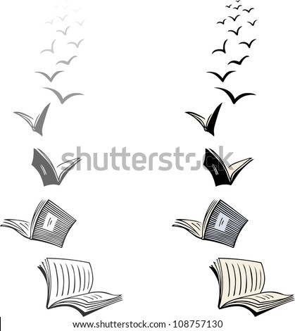 Flying Books Stock Images, Royalty-Free Images & Vectors ...