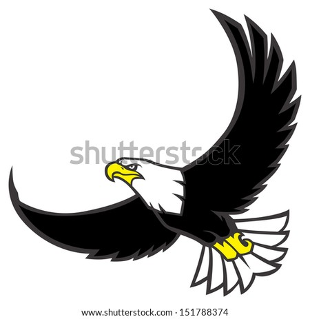 Hawk Cartoon Stock Images, Royalty-Free Images & Vectors ... Flying Hawk Cartoon