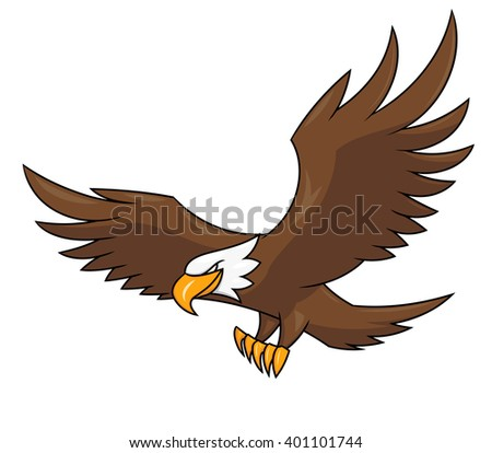 Flying eagle illustration 2