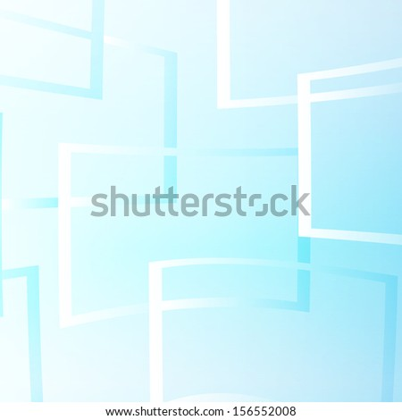 Flying windows on the blue sky vector illustration.Design abstract.Vector Illustration