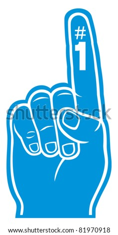 foam finger clipart. foam finger clipart m