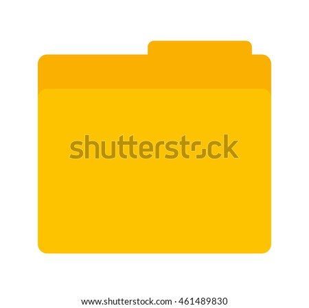 folder data document icon vector isolated graphic