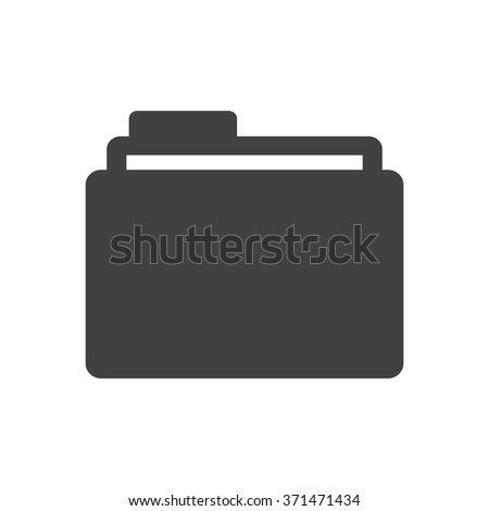 Folder Icon JPG, Folder Icon Graphic, Folder Icon Picture, Folder Icon EPS, Folder Icon AI, Folder Icon JPEG, Folder Icon Art, Folder Icon, Folder Icon Vector - stock vector