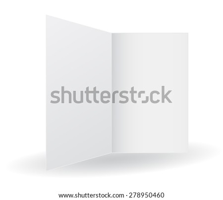 folder opened white icon 3d - stock vector