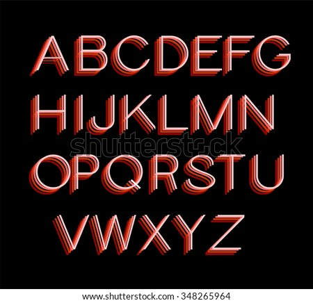 font, alphabet text graphic line rainbow letter colourful, accurate