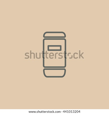 Food container icon. Food container icon Vector. Food container icon Art. Food container icon eps. Food container icon Image. Food container icon logo.Food container icon Sign. Food container - stock vector