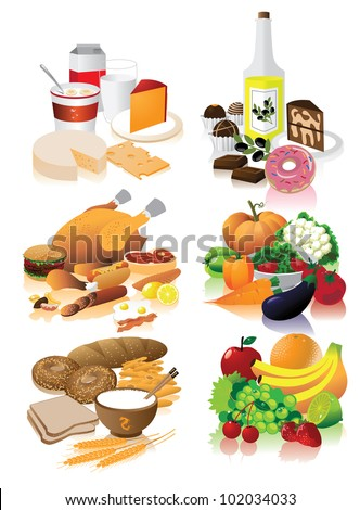 Food Groups Stock Images, Royalty-Free Images & Vectors | Shutterstock