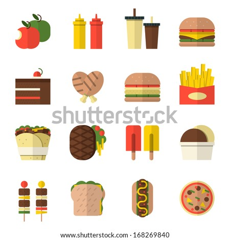food icon design. - stock vector