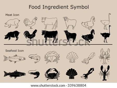 Food Ingredients symbol.