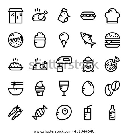 Food Vector Icons 6