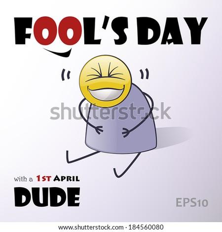Fool's Day 2 - stock vector