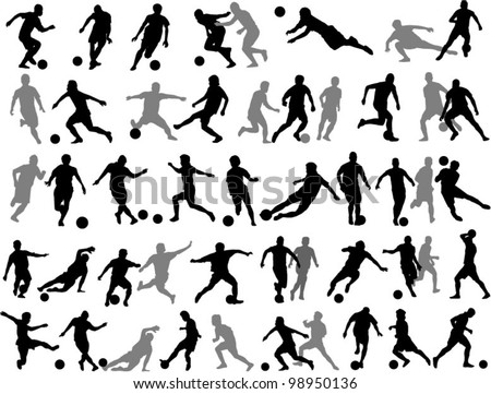 football action vector